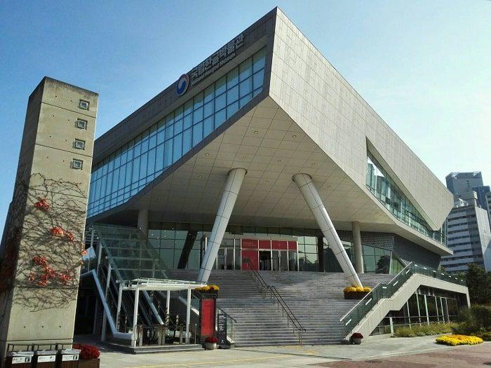 国立ハングル博物館 外観