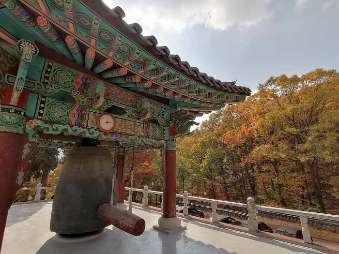 韓国お寺数珠作り テンプルステイ興国寺(フングクサ)テンプルステイ体験