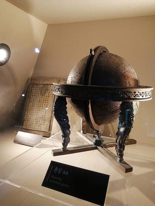 光化門広場の地下、世宗(セジョン)イヤギの展示
