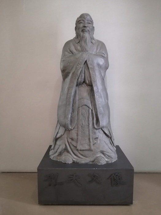 成均館大学校博物館 孔子像