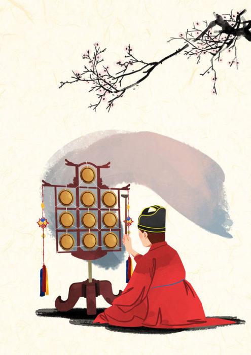 国楽博物館、朝鮮時代の楽器、ウルラ雲羅