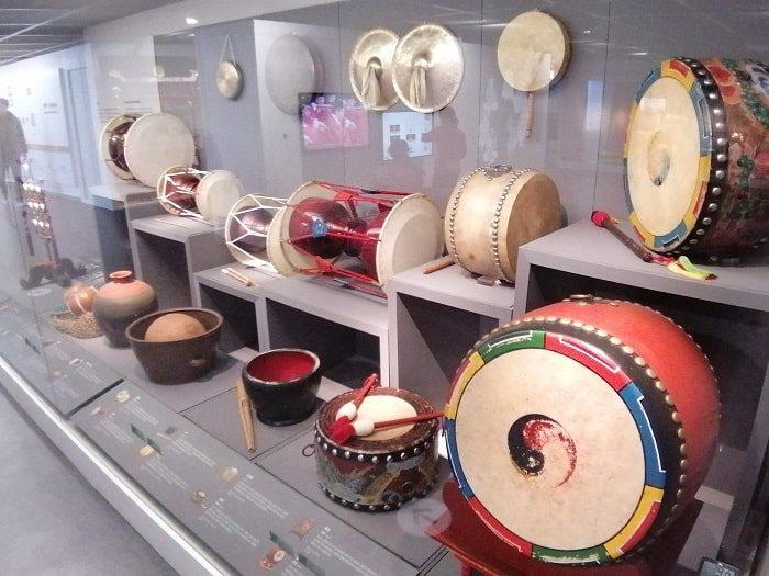 国楽博物館、古代~朝鮮時代の打楽器