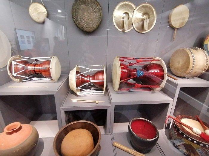 国楽博物館、古代~朝鮮時代の打楽器、ジャング