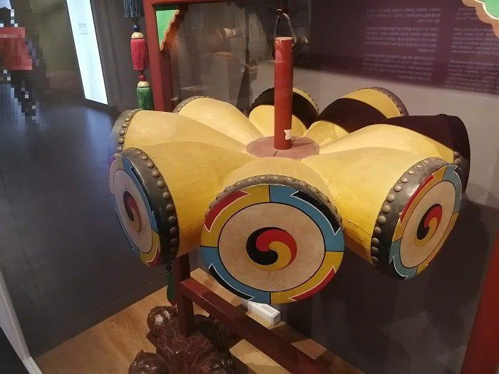 韓国初の国楽専門博物館、朝鮮時代の国楽祭礼楽器