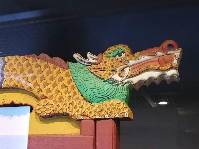 国楽博物館、朝鮮時代の国楽祭礼楽器の龍
