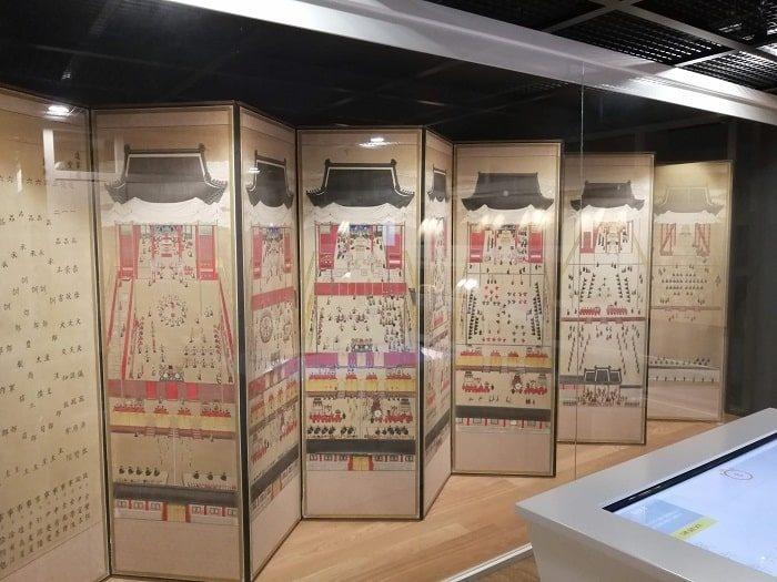 韓国初の国楽専門博物館、1902年の屏風