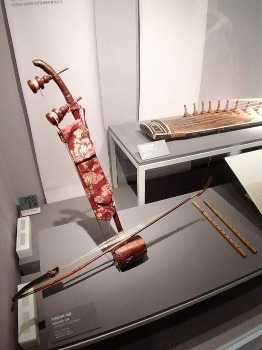 国楽博物館、日帝強占期に生きた名人の遺物