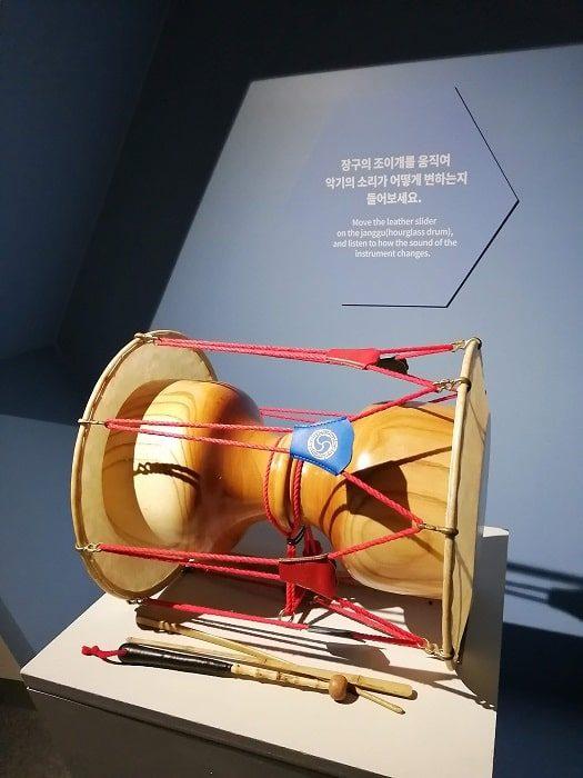国楽博物館、体験室のジャング