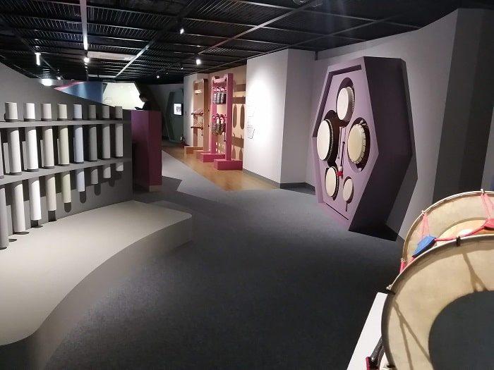 国楽博物館、体験室
