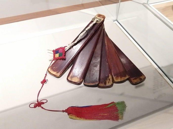 国楽博物館、朝鮮時代の国楽祭礼楽器の拍