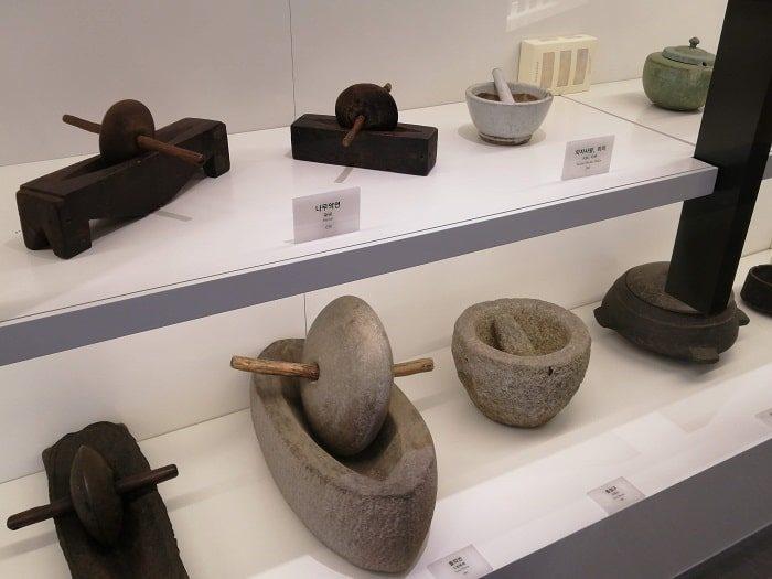ソウル薬令市韓医薬博物館‗韓方(韓国の漢方)薬を製造する道具