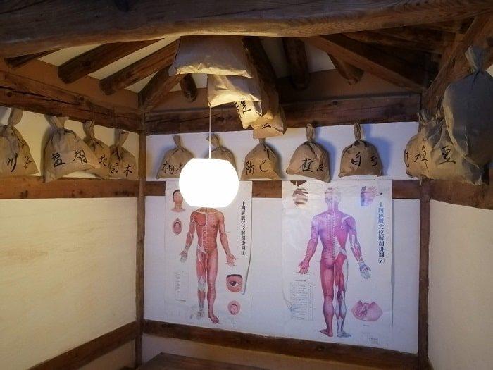 ソウル薬令市韓医薬博物館‗韓方(韓国の漢方)医院の中