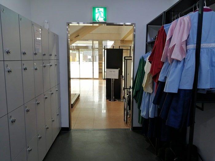 ソウル韓方振興センター1階の伝統衣装体験室