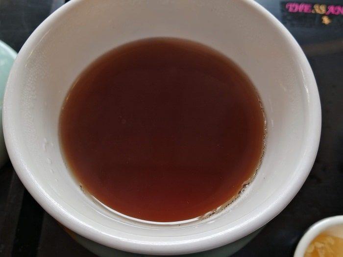 ザ・サンファ江南韓医院の生姜茶