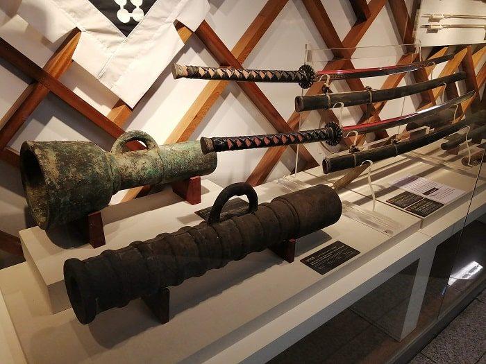光化門広場地下の忠武公李舜臣将軍の物語(チュンムゴン イヤギ)銃筒