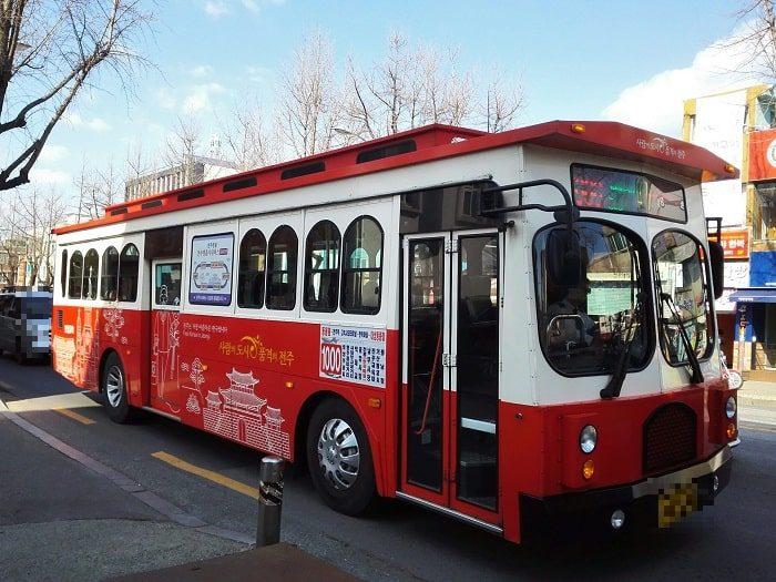 全州(チョンジュ)の市内バス