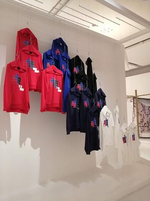 ハングルデザインの服‗国立ハングル博物館