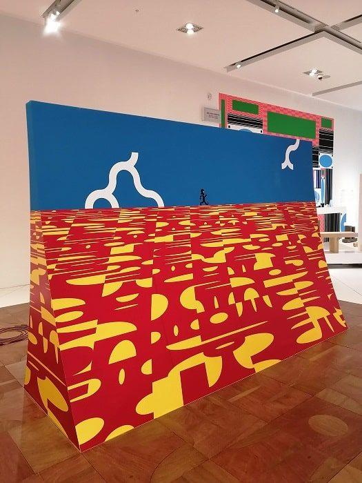 ハングルデザインのフローリング‗国立ハングル博物館