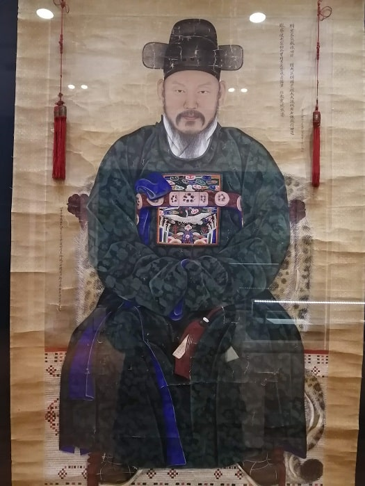 国立全州博物館文臣金瓘キムグヮンの肖像画(1914年)