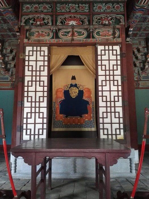 全州慶基殿の李成桂の御眞