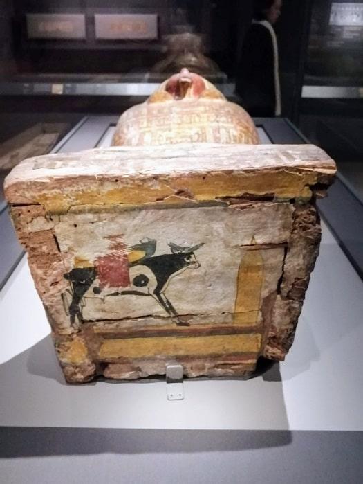 国立中央博物館_エジプト館ミイラの棺
