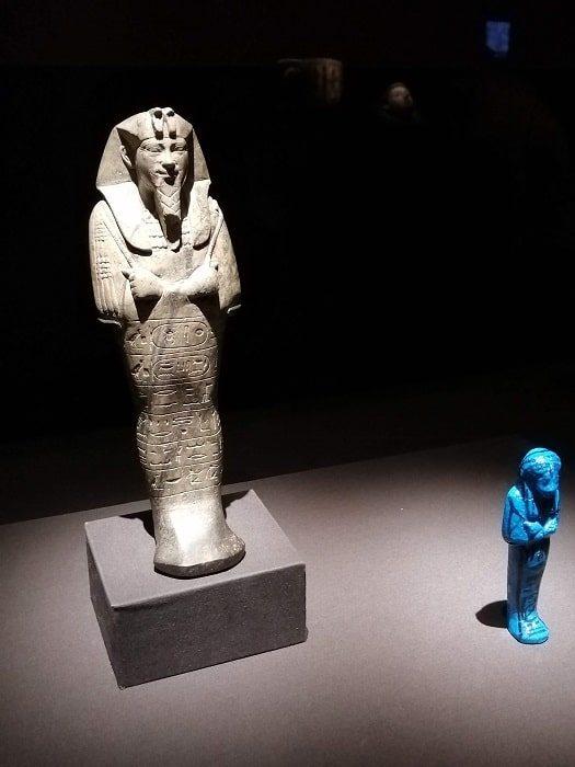 国立中央博物館_エジプト館 センカマニスケン王(Senkamanisken)のシャブティ