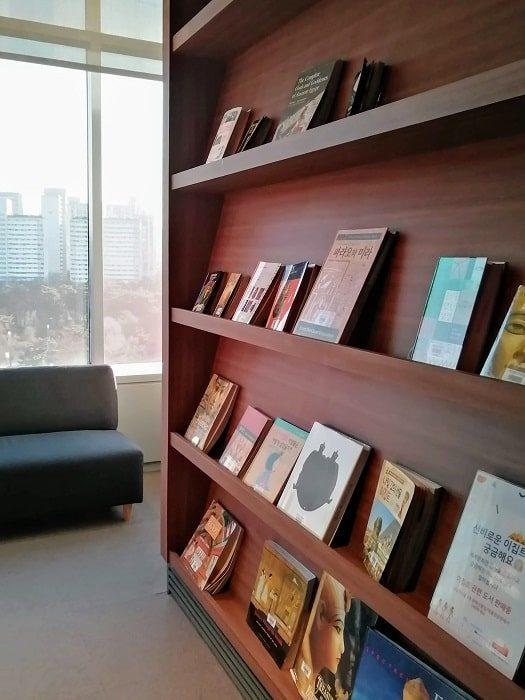 国立中央博物館_エジプト館読書スペース
