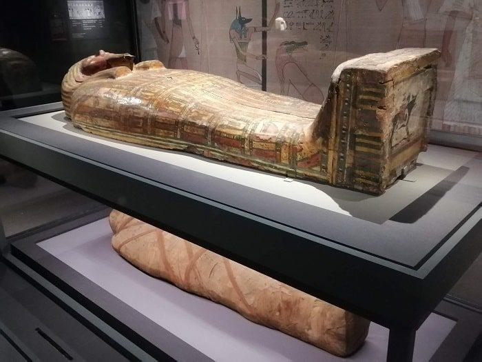 国立中央博物館_エジプト館ミイラ