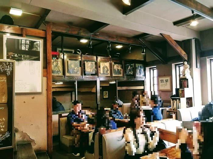 ソウル未来遺産:韓国ドラマ「星から来たあなた」撮影地 大学路の学林茶房