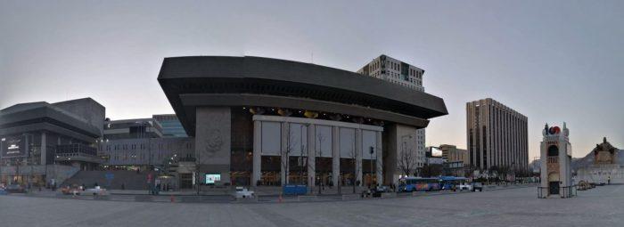 光化門広場、世宗文化会館