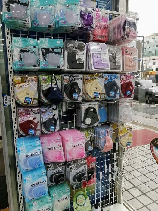 大邱(テグ)・慶北(キョンブク)がんばってください_韓国のマスク販売状況