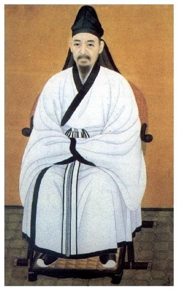 韓国紙幣の肖像画5千ウォン栗谷 李珥(イ・イ)