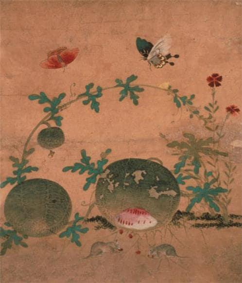 韓国紙幣の肖像画5万ウォン 申師任堂(シンサイムダン)の絵
