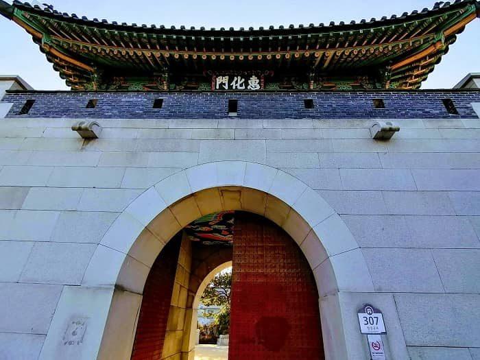 漢陽都城(ハニャントソン)恵化門