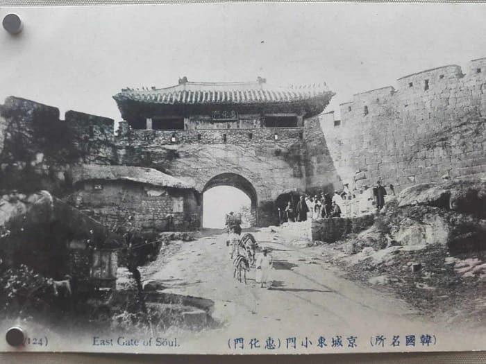 漢陽都城(ハニャントソン)破壊される前の恵化門