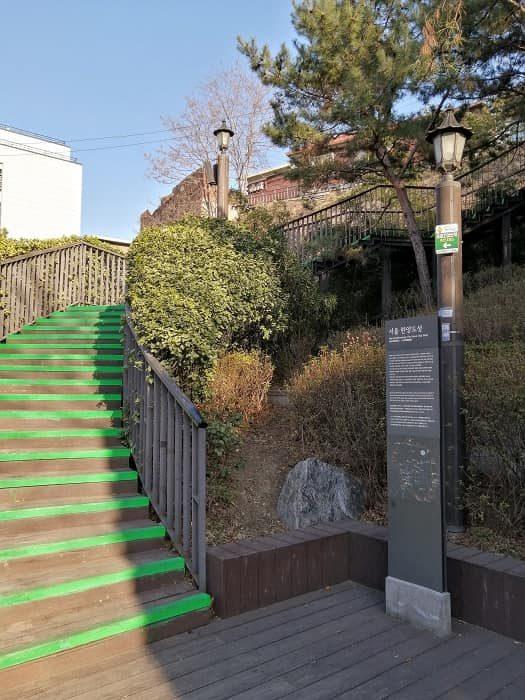 漢陽都城(ハニャントソン)入口_恵化門前