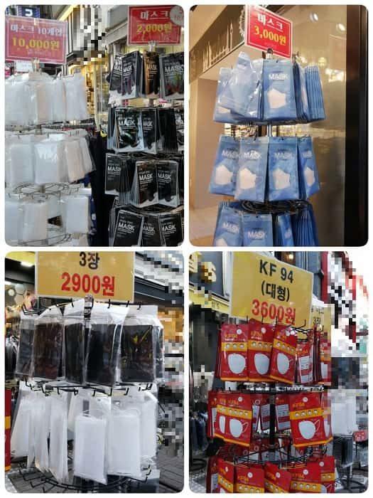韓国ではマスクが買える