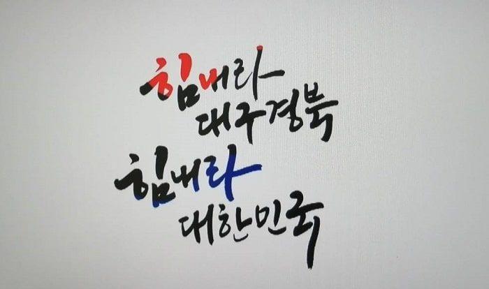 힘내라 대구 경북 힘내라 대한민국