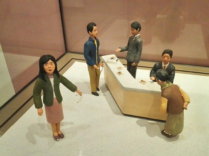 IMF外換金融危機当時金集め運動の模型/韓国金融史博物館