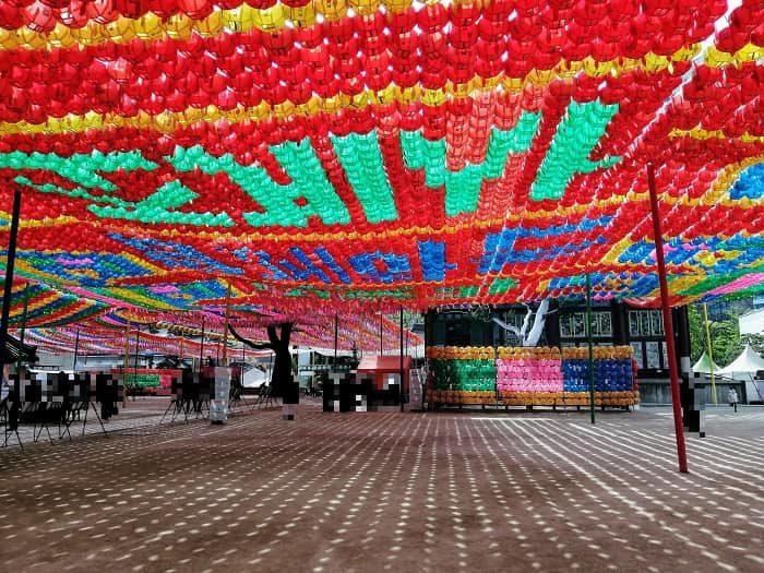 チョゲサ2020年の燃灯祝祭