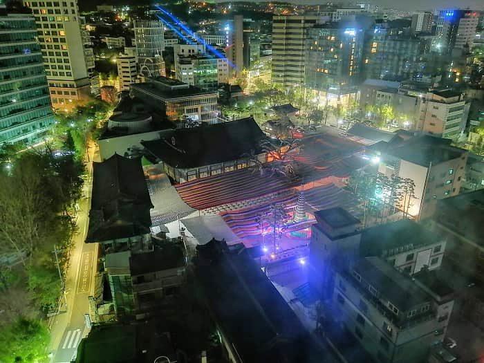 社会的距離が規制緩和、チョゲサ2020年の燃灯祝祭