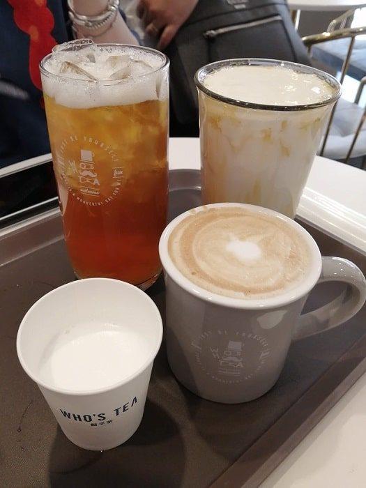 ミアサゴリ 台湾カフェ WHO'S TEA