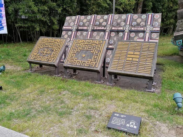 ソウル歴史博物館野外展示