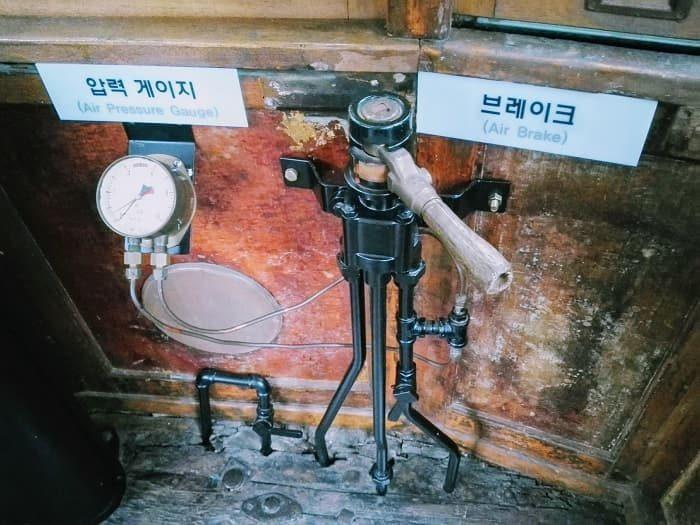 ソウル歴史博物館野外展示、1930年代の路面電車