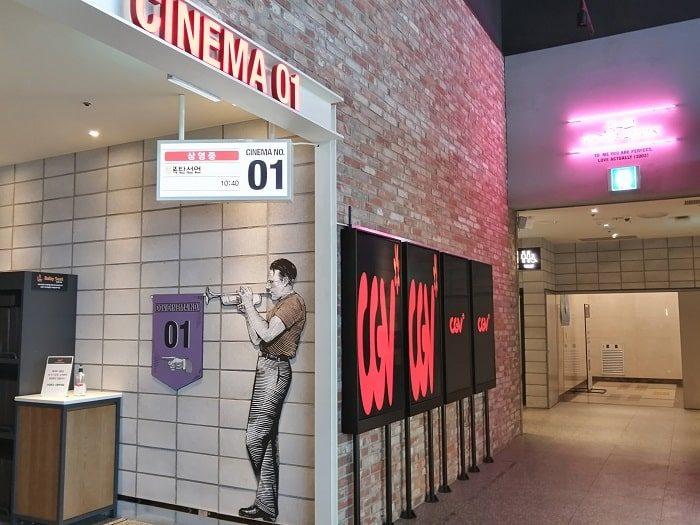 韓国映画館CGVコロナ対応