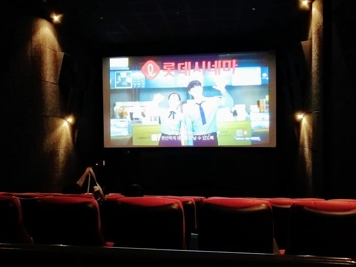 韓国映画館CGV
