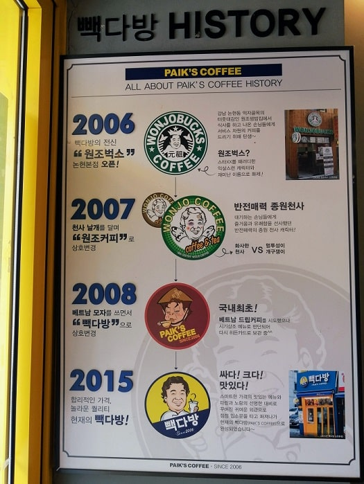 ペク・ジョンウォンが経営する人気チェーン店ペクタバン(茶房)の歴史