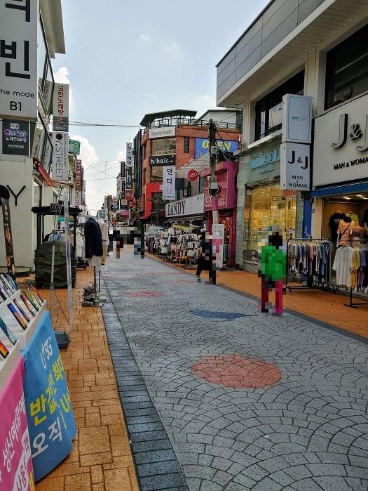 コロナ_最近のソウルの街の様子