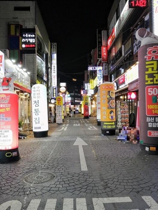 コロナ_最近のソウルの通りの様子