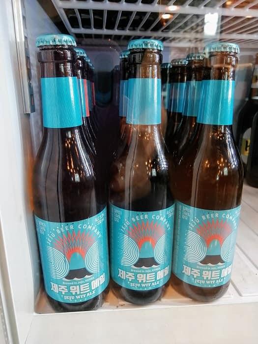 ソウルで飲むチェジュ島ビール